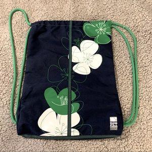 Nike -  Like New, Blue/Green Gym Sling Backpack